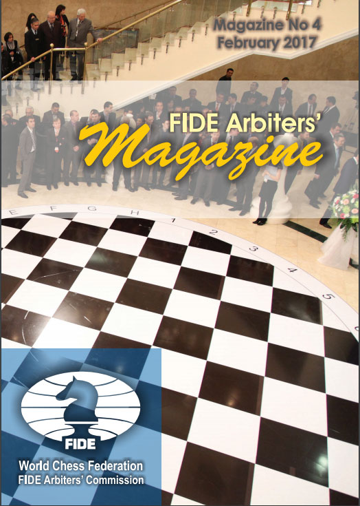 FIDE Arbiters Magazine cover
