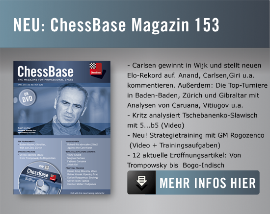 ChessBase Magazin 153