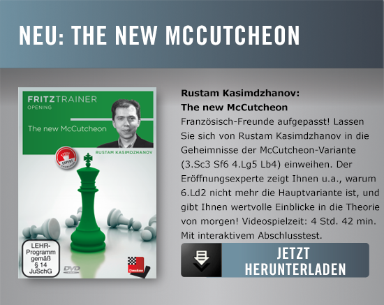 Kasimdzhanov The new McCutcheon