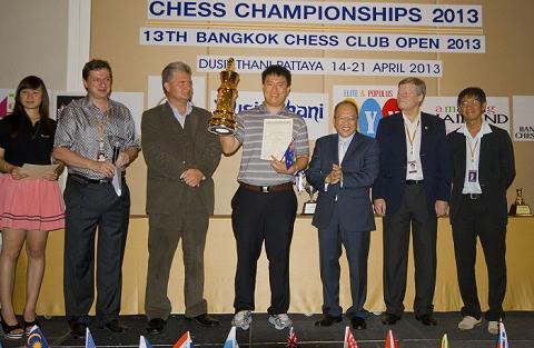 El ganador del torneo fue Zhao Zong-Yuan, de Australia