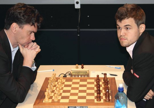 Ο Carlsen έγινε Tal