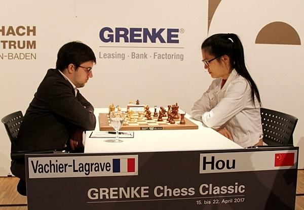 Maxime Vachier-Lagrave vs. Hou Yifan