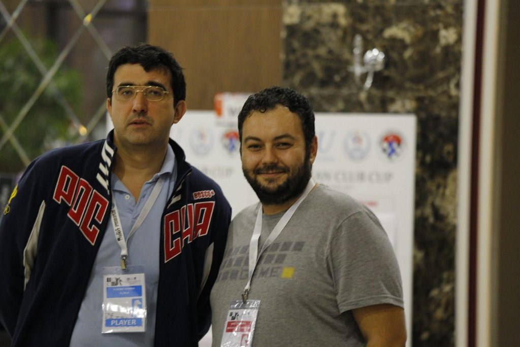 Selfie con KramnikFoto: Gurkan Ergun