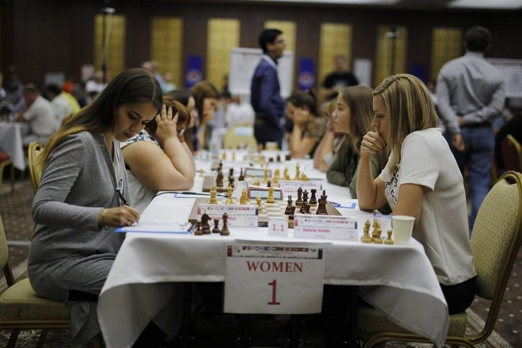 Alina Kashllinskaya vs. Natalia Zhukova Foto: Gurkan Ergun