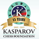 Kasparov Chess Foundation logo
