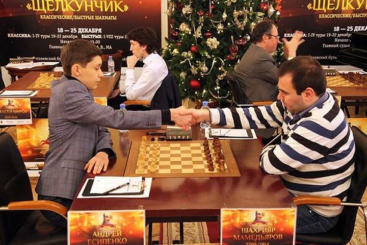 Esipenko vs Mamedyarov