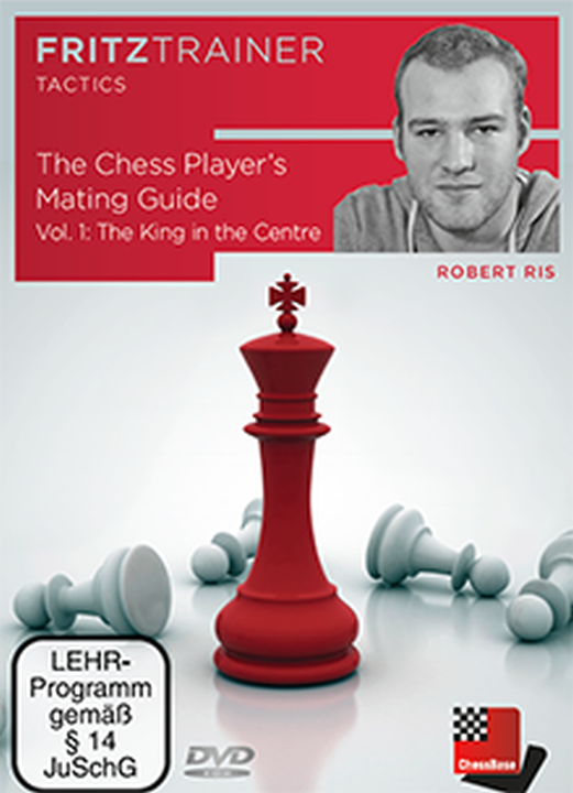 The cover of Robert Ris' DVD, 'The Chess Player's Mating Guide: Vol 1