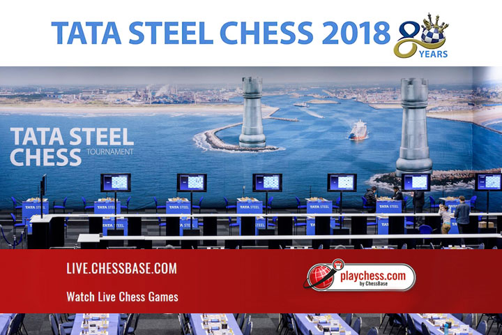 tata steel chess live
