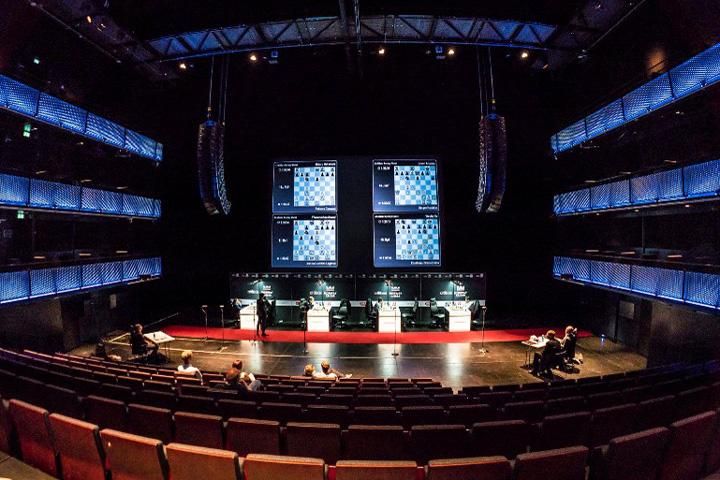 La sala de juego   Foto: Lennart Ootes / Norway Chess