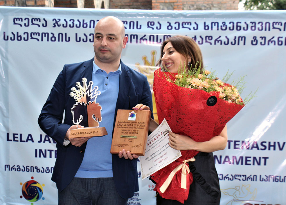 Telavi Mayor with Lela