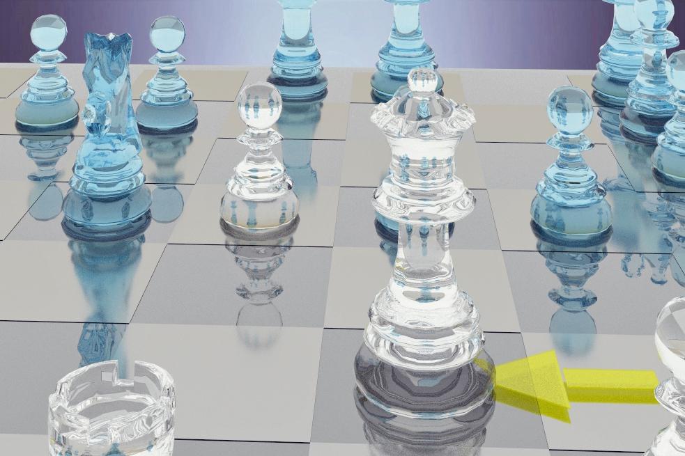 Make chess art with ChessBase 15 raytracing | ChessBase