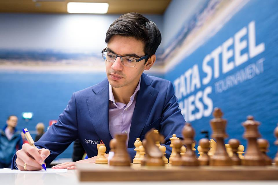 Anish Giri quedó subcampeón | Foto: Alina l'Ami (Tata Steel Chess 2019)
