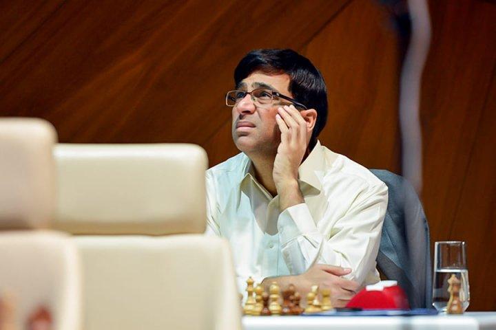 Vishy Anand   Foto: Shamkir Chess 2019
