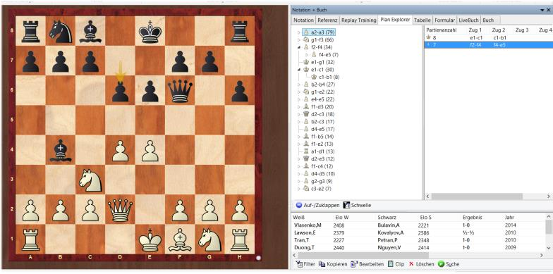 Plan Explorer ChessBase 15